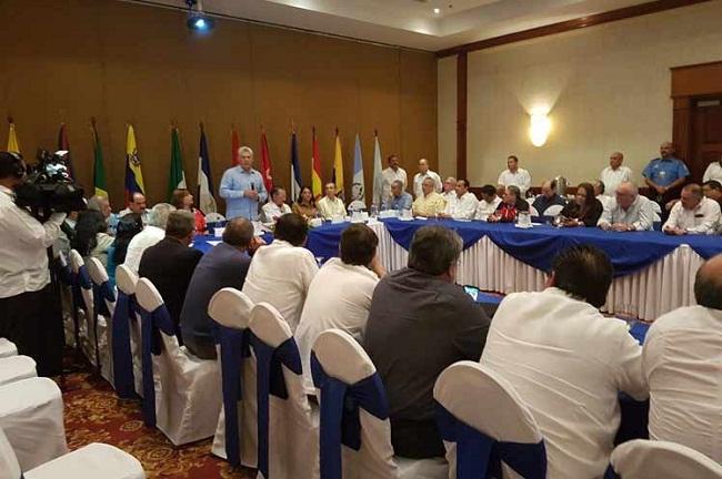 El Primer Vicepresidente cubano afirmó que su presencia en la capital nicaragüense es una manera de patentizar la continuidad de Fidel