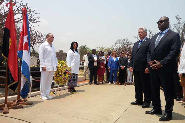 Diaz Canel highlights historic ties between Cuba and Angola