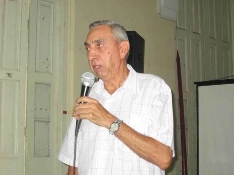 Doctor en ciencias Histórcias, Elvis Rodríguez Rodríguez, director de investigaciones del Instituto de historia de Cuba. Foto: Yirian García de la Torre.