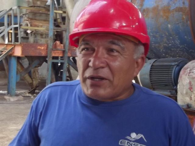 El director de la Salina El Real, Miguel Milán asegura el cumplimiento del plan anual