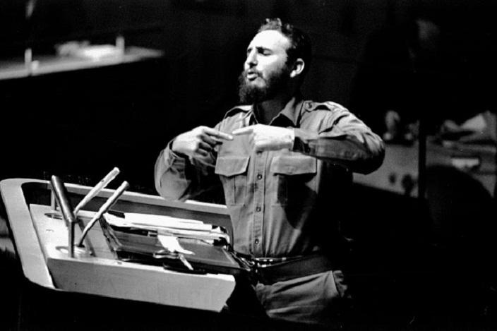 Cuba en la ONU: El primer discurso de Fidel Castro