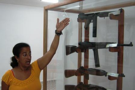 En el Museo Municipal se atesoran las tradiciones históricas y patrióticas del municipio.  Foto: Carlos Sanabia