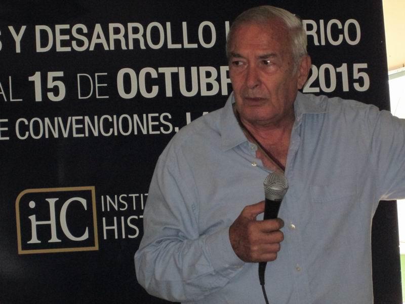 Doctor en Ciencias Históricas Ángel Jiménez González. Foto: Yirian García de la Torre.