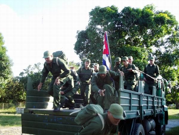 Realizarán en Cuba ejercicio estratégico Bastión 2016. Foto: Miozotis Fabelo