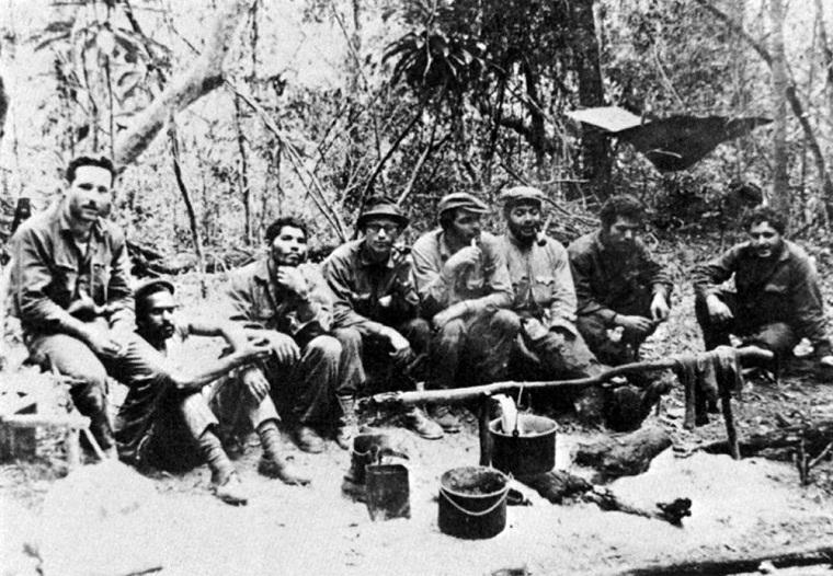 El Che en la Sierra Maestra