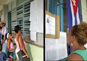 Lista Cuba para elegir a sus delegados del Poder Popular