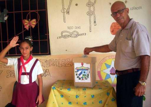 En Cuba están legislados los derechos ciudadanos para ejercicio del voto