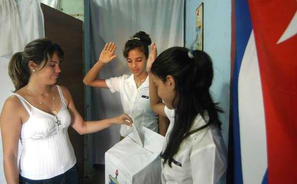 En las urnas cubanas el 82 por ciento de los votos