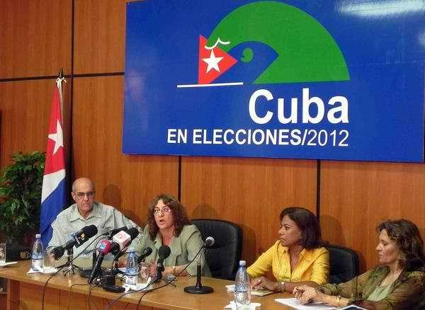 Alina Balseiro declara las condiciones creadas para la prueba dinámica de las elecciones al Parlamento en Cuba