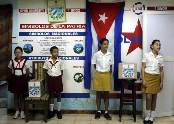 Elecciones de Delegados a la Asamblea Municipal en Cuba. Foto: Ismael Francisco