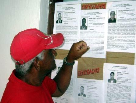 Listos los cubanos para protagonizar comicios parciales
