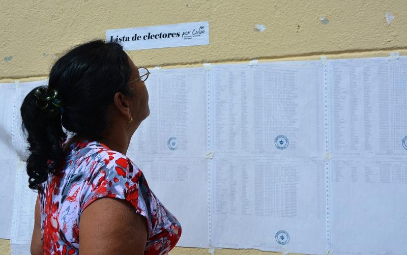 Matanzas, casi el cincuenta por ciento de los electores ya votaron
