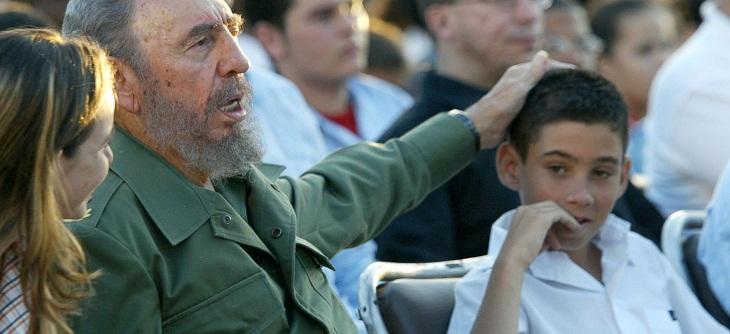 Elián y Fidel