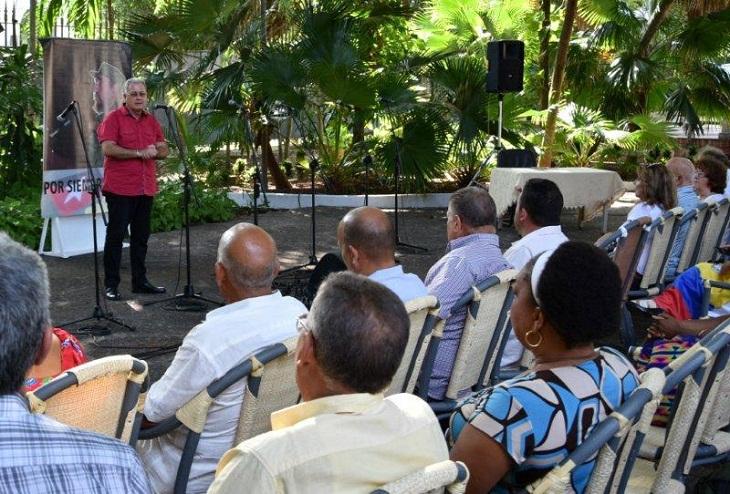 Rinden homenaje a Fidel en el aniversario 91 de su natalicio