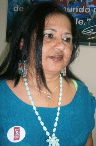 Presidenta de la Comisión provincial en Cienfuegos, Elsa Linares Carmouse. Foto: Mireya Ojeda