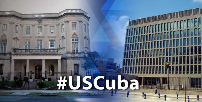 Embajadas de Cuba y Estados Unidos