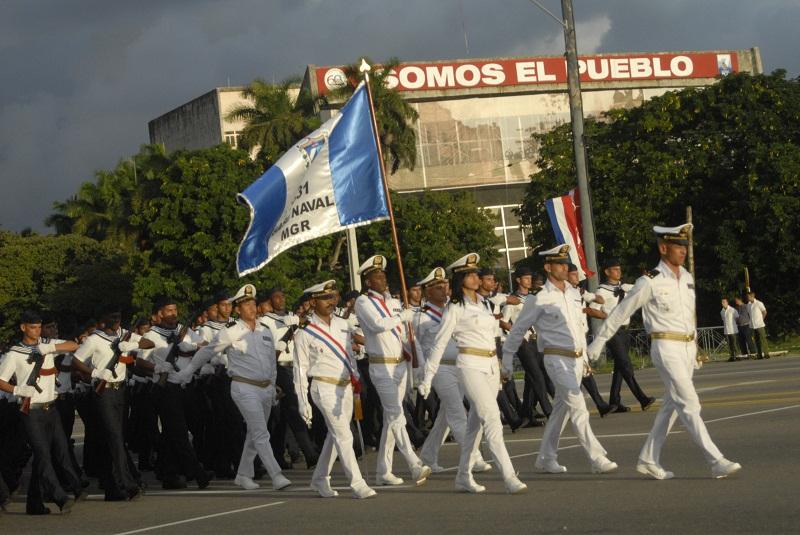 Se alistan detalles para revista militar y marcha del pueblo combatiente
