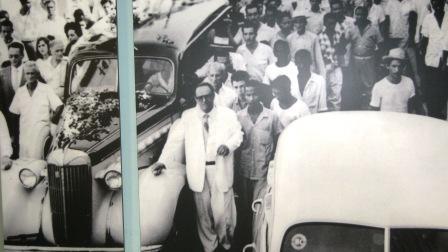 Sepelio de Frank País en Santiago de Cuba