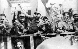 Fidel en Cienfuegos, después del Triunfo de la Revolución