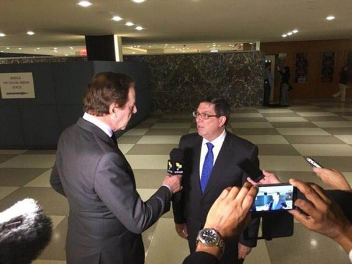 Afirma Bruno Rodríguez que discurso de Trump en la ONU ha sido descarnadamente imperialista (+Audio)