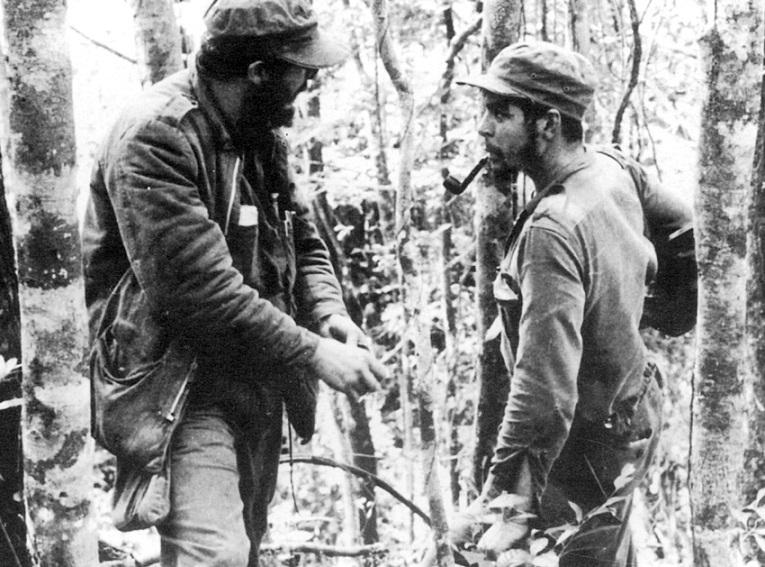 Che Guevara y el revolucionario en Cuba