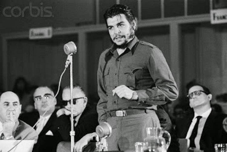 Ernesto Guevara en Pinar del Río
