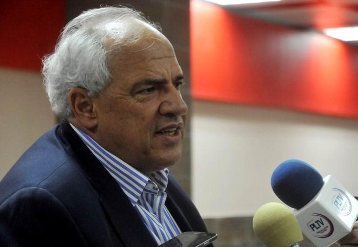 UNASUR Secretary General Ernesto Samper takes part at forum on Cuban National Hero
