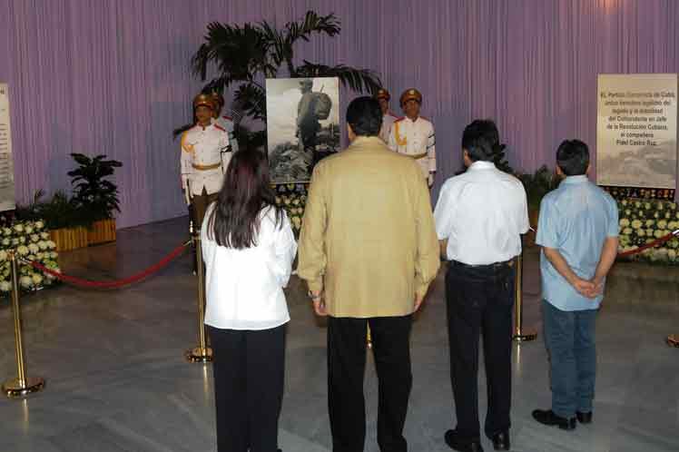 Rinden líderes mundiales homenaje a Fidel en La Habana