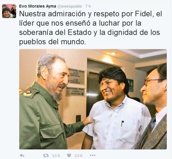 Líderes del mundo envían mensajes de condolencias a Cuba