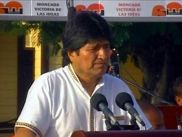 Destaca Evo Morales fuerza y soberanía del pueblo cubano (+ Audio)