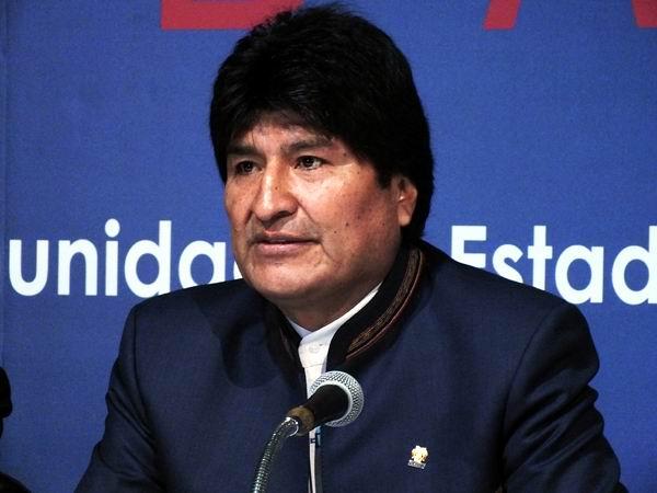 Evo Morales ofrece Conferencia de Prensa antes de iniciarse la Cumbre de CELAC.  Foto: Abel Rojas Barallobre