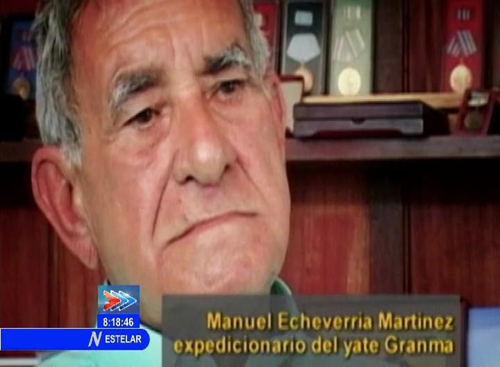 Falleció el expedicionario del Granma, Manuel Echevarría Martínez