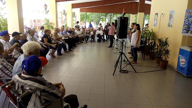 En Sancti Spíritus moncadistas y expedicionarios del Granma para acto por el 26 de Julio