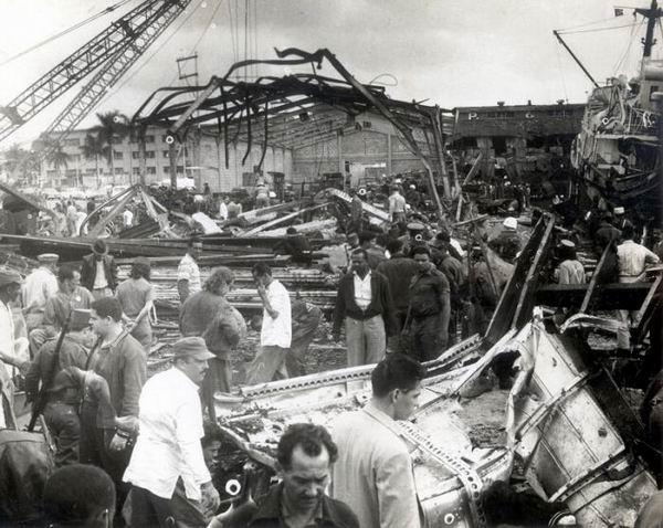 Che Guevara y la explosión de la Coubre