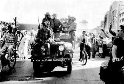 Entrada de Fidel a La Habana en la Caravana de la Libertad