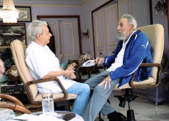 Fidel Castro recibió a Frei Betto
