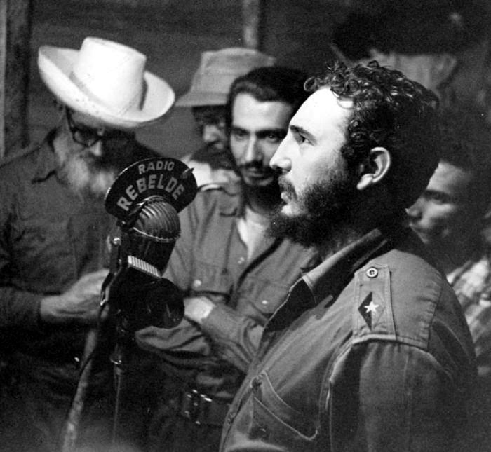 El periodista Fidel Castro