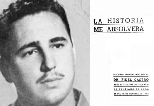 Cuba remembers Fidel Castro's defense speech 67 years ago