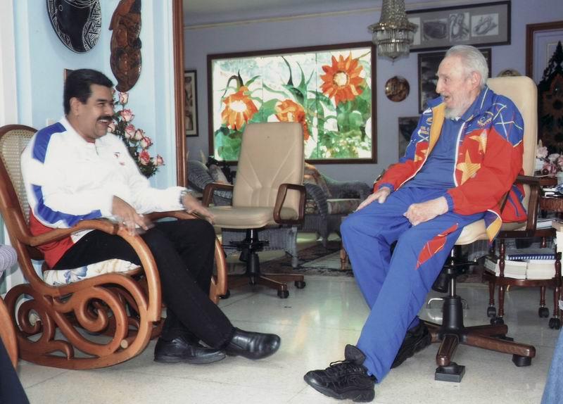 Asegura Maduro que los pueblos de Am�rica Latina celebrar�n cumplea�os 90 de Fidel
