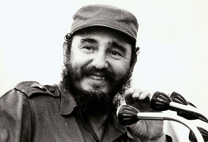 Fidel Castro siempre presente en las celebraciones proletarias