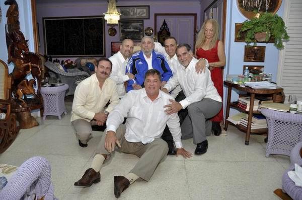 Fidel, los Cinco y la certeza de una frase: ¡Volverán! (+Audio)
