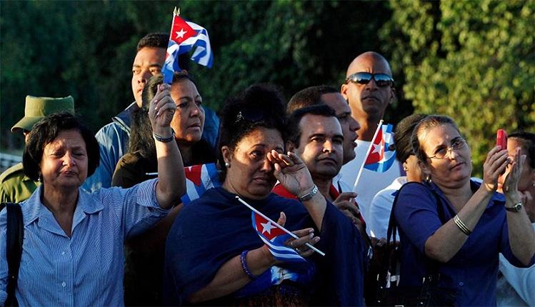 Da el último adiós a Fidel el pueblo de toda Cuba