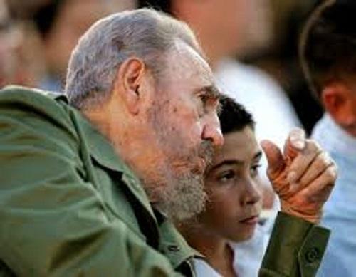 Fidel y Elián