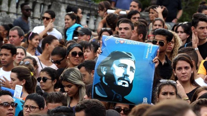 Fidel es y siempre será Cuba