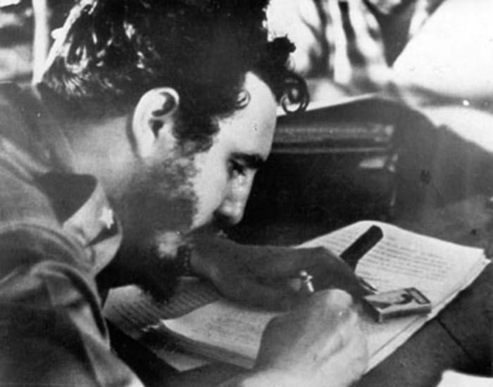 Fidel Castro conversa con Herbert Matthews (+Audio)