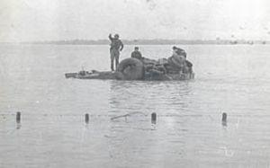 Fidel durante el Huracán Flora