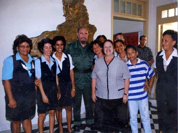 Recuerdan en Santiago de Cuba histórica visita de Fidel