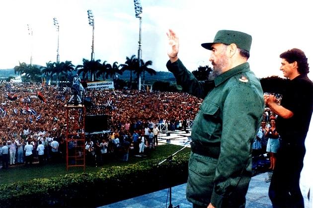 Fidel al frente de un pueblo de ideas