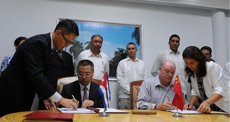 Apuestan Cuba y China por ampliar v�nculos de colaboraci�n (+ Audio)