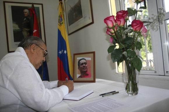 Abren libro de condolencias en La Habana por muerte de diputado venezolano
